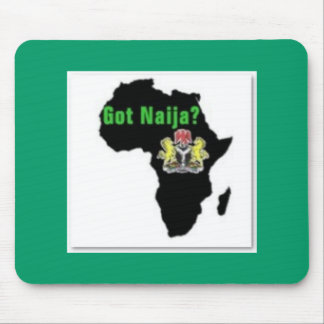 Nigeria , Africa T-Shirt and Etc Mouse Pad