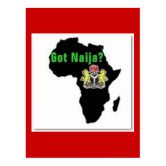 Nigeria , Africa T-Shirt and Etc Post Card