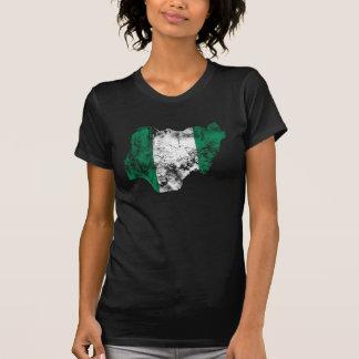 Nigeria apenó la bandera camiseta