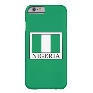 Nigeria Barely There iPhone 6 Case