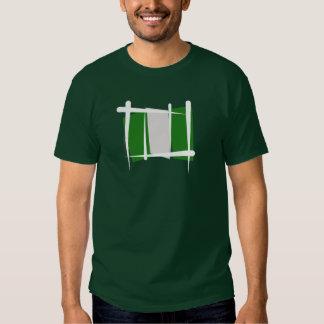 Nigeria Brush Flag Shirt