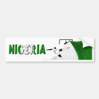Nigeria Bumper Sticker