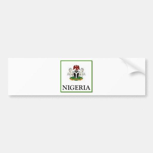 Nigeria Bumper Stickers