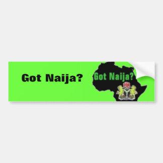 Nigeria, camiseta de África y etc Pegatina Para Auto