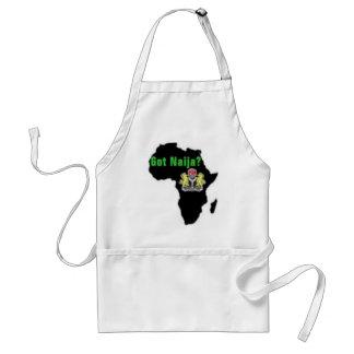 Nigeria, camiseta de África y etc Delantal