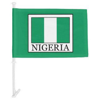 Nigeria Car Flag