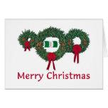 Nigeria Christmas 2 Greeting Card