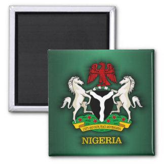 Nigeria COA 2 Inch Square Magnet