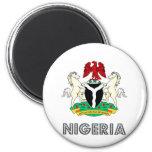 Nigeria Coat of Arms 2 Inch Round Magnet