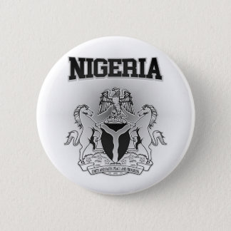 Nigeria Coat of Arms Button