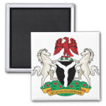 Nigeria Coat of Arms detail Refrigerator Magnet