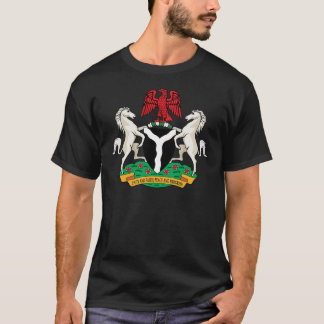 Nigeria Coat of Arms detail T-Shirt