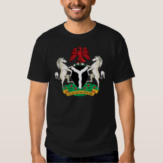 Nigeria Coat of Arms detail T-shirts
