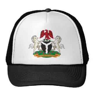 Nigeria Coat of Arms Hat