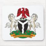 Nigeria Coat of Arms Mousepad