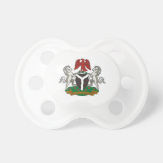 Nigeria Coat of Arms Pacifier