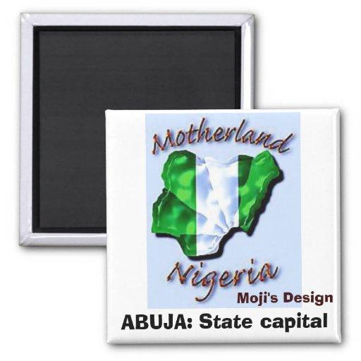 NIGERIA copia HOY, ABUYA: Capital del Estado Imán Cuadrado