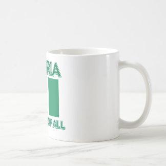 Nigeria Design Coffee Mug