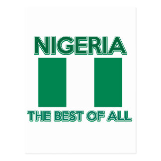 Nigeria Design Postcard