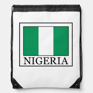 Nigeria Drawstring Bag