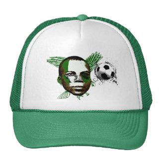 Nigeria Eagles Angola 2010 regalos de las fans Gorra