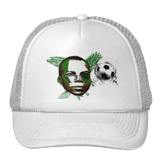 Nigeria Eagles Angola 2010 regalos de las fans Gorras