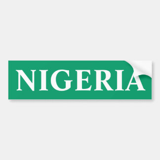 Nigeria Eagles estupendo Pegatina Para Auto