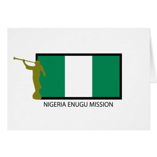NIGERIA ENUGU MISSION LDS CTR GREETING CARD