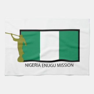 NIGERIA ENUGU MISSION LDS CTR HAND TOWELS