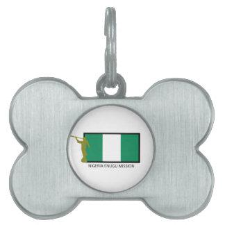 NIGERIA ENUGU MISSION LDS CTR PET ID TAGS