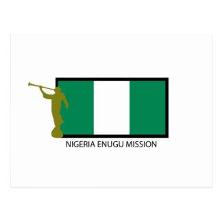 NIGERIA ENUGU MISSION LDS CTR POSTCARD