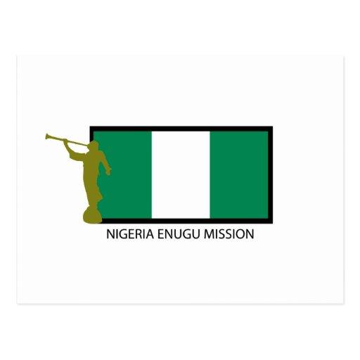 NIGERIA ENUGU MISSION LDS CTR POST CARDS