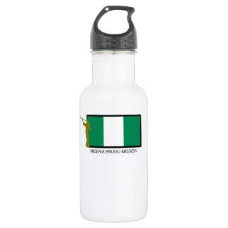 NIGERIA ENUGU MISSION LDS CTR STAINLESS STEEL WATER BOTTLE