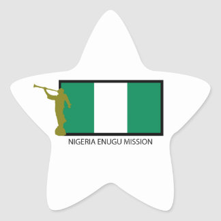 NIGERIA ENUGU MISSION LDS CTR STAR STICKER
