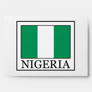Nigeria Envelope