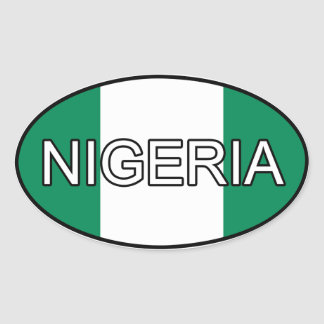 Nigeria Euro Sticker