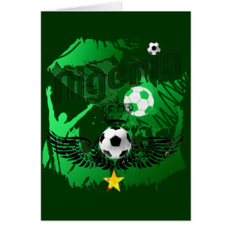Nigeria fans crowd explosion Naija gifts Card