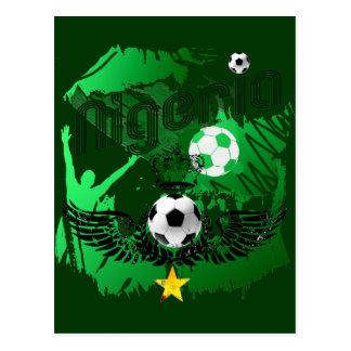 Nigeria fans crowd explosion Naija gifts Postcard