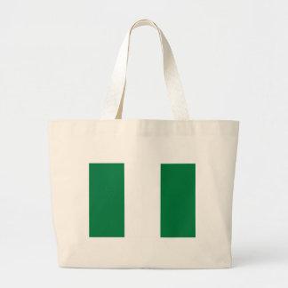 Nigeria flag bag