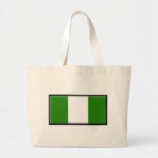 Nigeria Flag Bags
