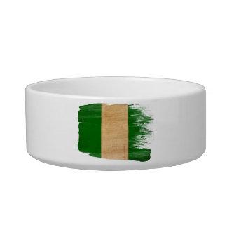 Nigeria Flag Bowl