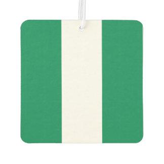 Nigeria Flag Car Air Freshener