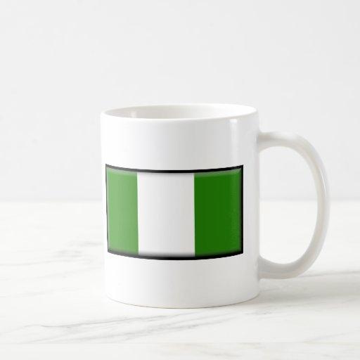 Nigeria Flag Classic White Coffee Mug
