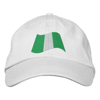 Nigeria Flag Embroidered Baseball Cap