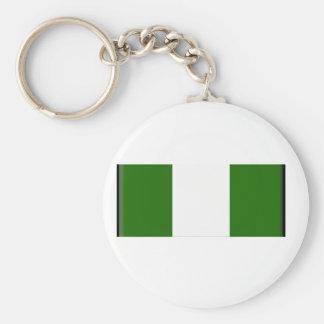 Nigeria Flag Key Chain