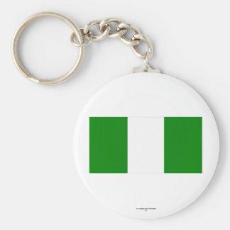 Nigeria Flag Key Chains