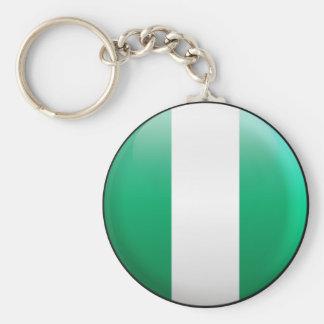 Nigeria Flag Keychain