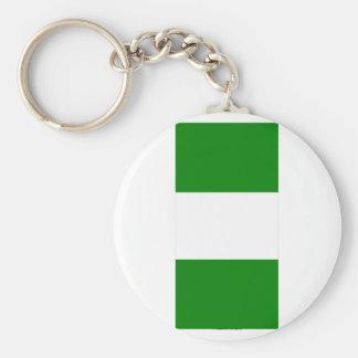 Nigeria Flag Keychains