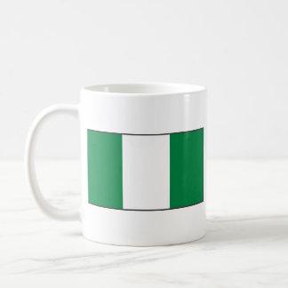 Nigeria Flag ~ Map Mug