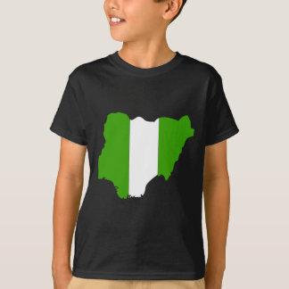 Nigeria flag map T-Shirt